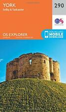 OS Explorer Map (290) York by Ordnance Survey, NEW Book, FREE & FAST Delivery, (