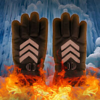 Rechargeable Heated Gloves Battery Powered Motorcycle Winter Warmer Gloves Men