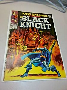 Marvel Super Heroes Presents #17 1st Solo BLACK KNIGHT! appearance Origin Story!