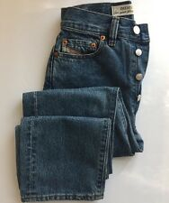 "DIESEL  Light Blue Straight Jeans Size  24 /28 Waist 25"" / 64 cm 250$ ITALY"