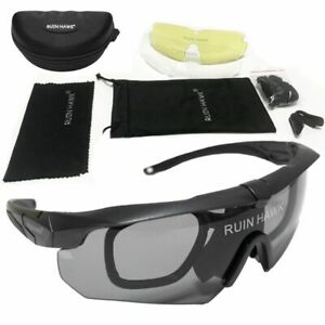 Sunglasses Shooting Paintball Airsoft Glasses Cycling Glasses 3 Lenses Goggles