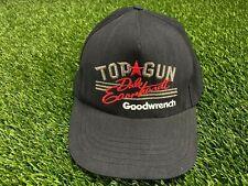 Dale Earnhardt Hat Top Gun Snapback Cap Goodwrench NASCAR Racing shirt VTG