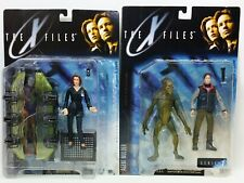 The X Files Agent Dana Scully And Agent Mulder Series 1 Lot Of 2 Action Figures