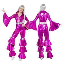 Dancing Dream Pink ABBA Small 8 – 10 Ladies Costume