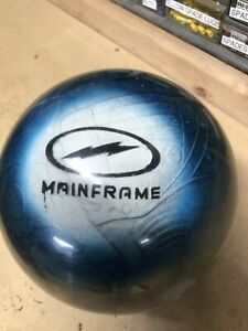 14lb Storm MAINFRAME CLEAR Bowling Ball.  Lightly Used.