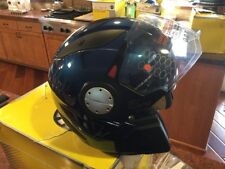 CAN-AM ST-1 HYBRID HALF HELMET. BLUE (SM).