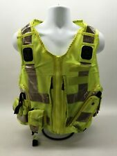 More details for ex police hi vis tactical utility vest yaffy grade 2 security patrol uniform sia