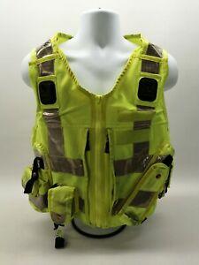 Ex Police Hi Vis Tactical Utility Vest Yaffy Grade 2 Security Patrol Uniform SIA