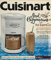 Cuisinart Espresso Iced Cappuccino Maker 4-Cup Cold or 8-Cup Hot