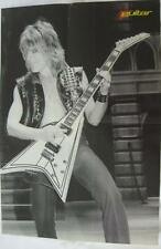 Randy Rhoads From Quiet Riot- Playing Guitar- Mini Poster Art Print