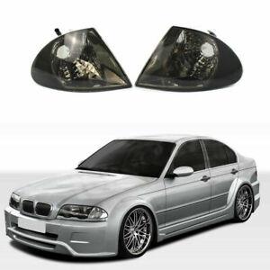 For BMW 3 Series E46 Sedan 99-2001 Turn Signal Corner Light Lamp Left + Right