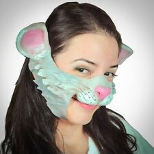 Kitty the Cat Prosthetic Face Latex Fancy Dress Adult One Size