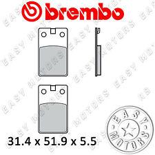 07008.CC COPPIA PASTIGLIE FRENO BREMBO ANTERIORE BETA TR33 125 86>87