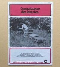 Dossier Image CHOCOLAT POULAIN Complet CONNAISSANCE des INSECTES
