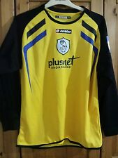 Sheffield Wednesday football shirt goalkeeper  for boys size XL lotto