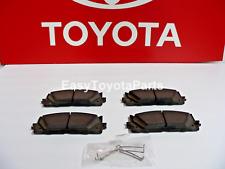 Camry Front Brake Pads          Genuine OEM Toyota 04465-33471
