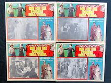 """JORGE NEGRETE """"ME HE DE COMER ESA TUNA"""" TRIO CALAVERAS NMINT 4 LOBBY CARDS/44 RE"""