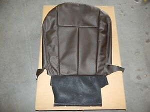 New OEM 2012-2016 Isuzu D-Max TF Front Right Seat Cushion Cover Leather Brown