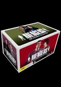 Avengers, The Ultimate Collection - 40 DVD boxset! - Brand new sealed region 4