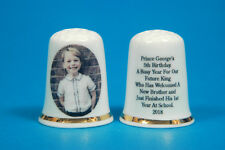Prince George's 5th Birthday A Busy Year For Our Future King China Thimble B/109