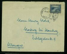 Haiti 1934 Cover Port au Prince to Harburg, Germany franked solo Scott 331