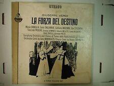 33 RPM Vinyl Giuseppe Verdi La Forza Del Destino Everest S-418/3 010615KME