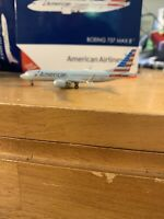 Gemini Jets American B737 Max 8 N324RA GJAAL1708 1:400 Scale Diecast Model