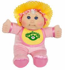 "Cabbage Patch Kids 11"" Pink Retro Baby: Caucasian Girl, Blonde Hair, Blue Eyes"
