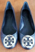 Tory Burch Reva Ballet Shoes -- Black Size 9 1/2 M New