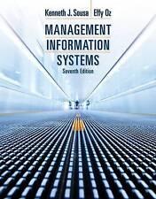 Management Information Systems by Effy Oz (Hardback, 2014)