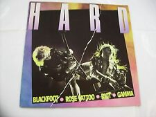VARIOUS ARTISTS - HARD - LP VINYL 1981 - BLACKFOOT - RIOT - GAMMA - KIX - BODINE