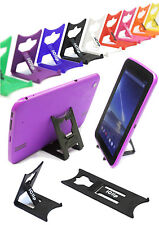 "Tesco Hudl 7"" Inch Tablet Holder BLACK iClip Travel & Desktop Folding Stand"