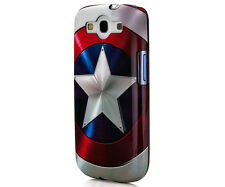 Captain America Clip Case for Samsung Galaxy GS3 Marvel Comics - IP1857 NEW