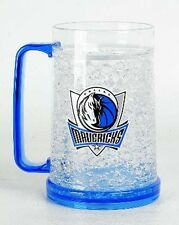 NBA, 16oz Crystal Freezer Mug, Dallas Mavericks, NEW
