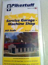 Pikestuff 541-0009 HO Scale Service Garage-Machine Shop Scale Size 25' X 29'