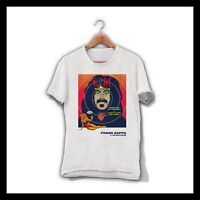 FRANK ZAPPA & THE MOTHERS MEN WHITE T-SHIRT THE MOTHERS OF INVENTION TEE SHIRT