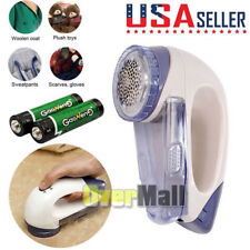 Portable Electric Clothes Lint Pill Fluff Remover Fabrics Sweater Fuzz Shaver US