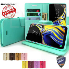 Samsung Galaxy S9 S10+Note 9 Case Slim Leather Wallet Kickstand Card Holder Flip