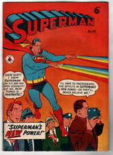 Australian SUPERMAN 107 DC Comics 1950's Superman 125 cover UK
