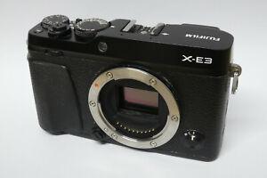 Fujifilm X-E3 Gehäuse / Body  defekt Wasserschaden XE3