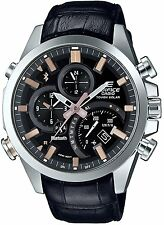 Casio 2016 EDIFICE TIME TRAVELLER EQB-500L-1AJF Men's Watch New in Box