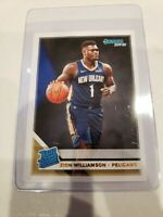 2019-20 PANINI DONRUSS RATED ROOKIE ZION WILLIAMSON #201 RC PELICANS