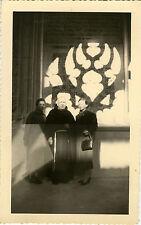 PHOTO ANCIENNE - VINTAGE SNAPSHOT-RELIGION RELIGIEUX ÉGLISE TOLEDE LUMIÈRE OMBRE