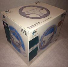 Logitech 941-000040 Speed Force Wireless Racing Wheel For Wii New