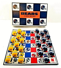 Chicago Bears vs Green Bay Packers NFL Checkers Board Game 1993 Complete