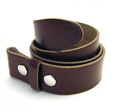 Hebilla Cinturón, Marrón oscuro, piel de vaca, Talla L