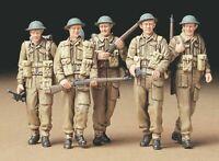 35223 Tamiya British Infantry On Patrol 1/35th Plastic Kit 1/35 Military Figures
