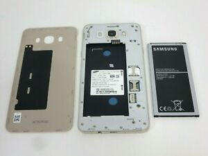 Samsung Galaxy J7 (SM-J710MN/DS) Parts 16GB Gold (Unlocked) Smartphone J8339