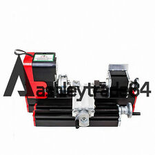 Mini Single machine lathe DIY Tool For Hobby Model Making 28CM