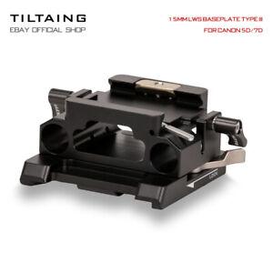 Tilta 15mm LWS Quick Release Baseplate Kamera Platten Type III For Canon 5D/7D